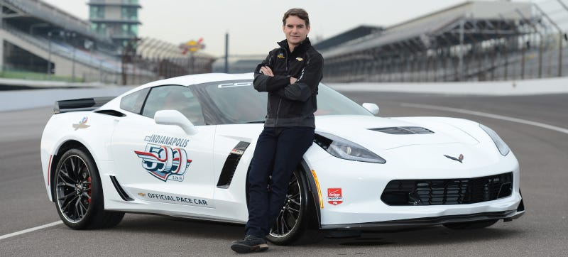 Illustration for article titled Jeff Gordon To Drive Indianapolis 500 Pace Car (And Taunt Travis' Face)