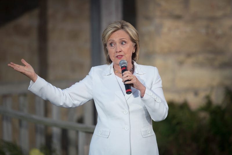 Democratic presidential candidate Hillary Clinton in 2015Scott Olson/Getty Images