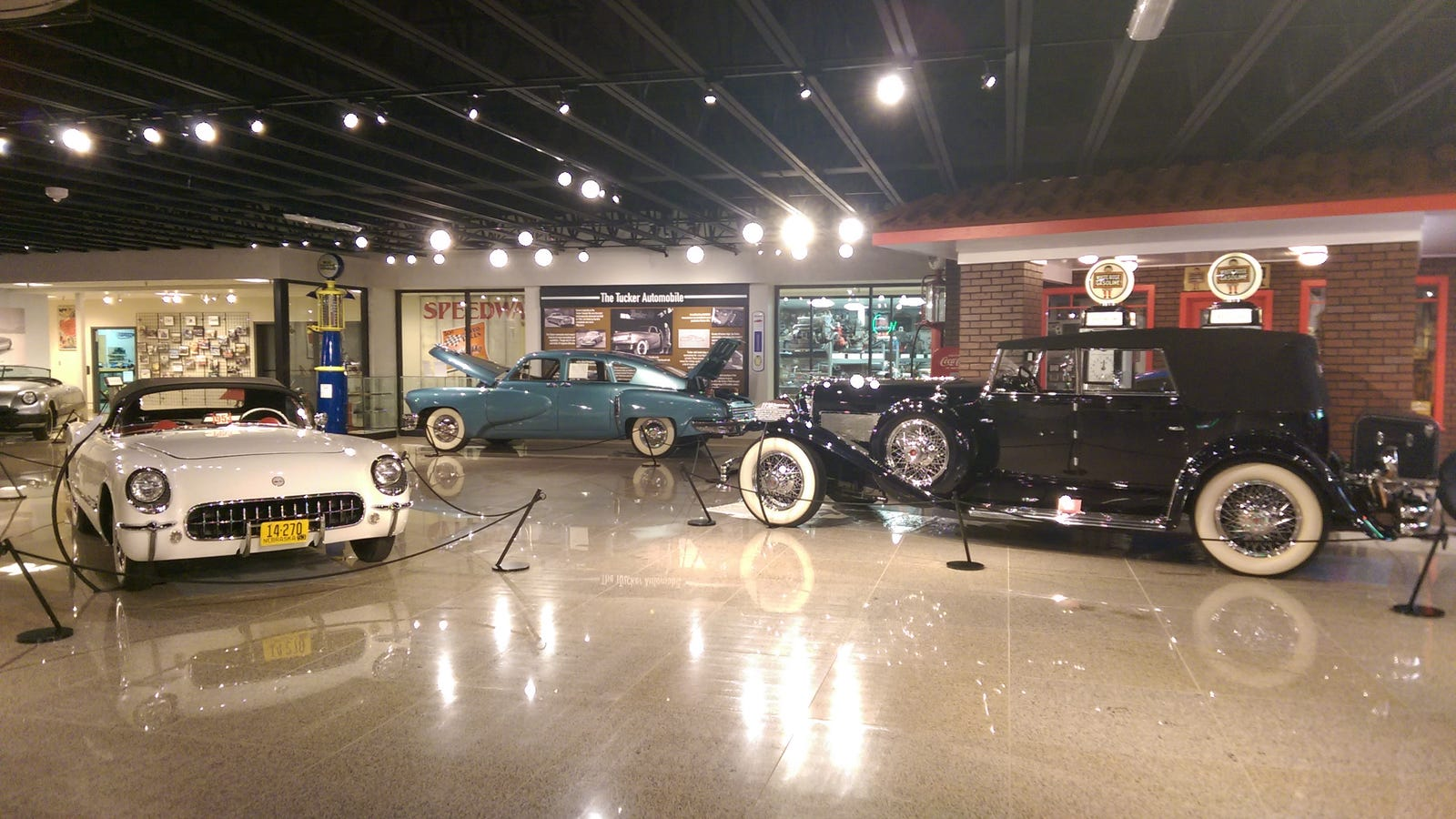 Speedy bill smith museum of american speed massive for Speedway motors museum lincoln ne