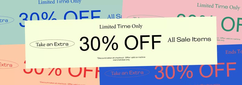 Extra 30% off sale items | Urban Outfitters