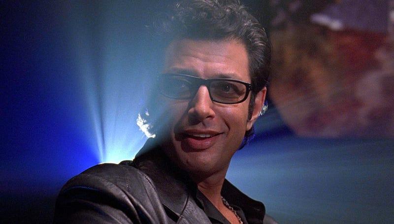 Jeff Goldblum is returning to Jurassic Park. Image: Universal