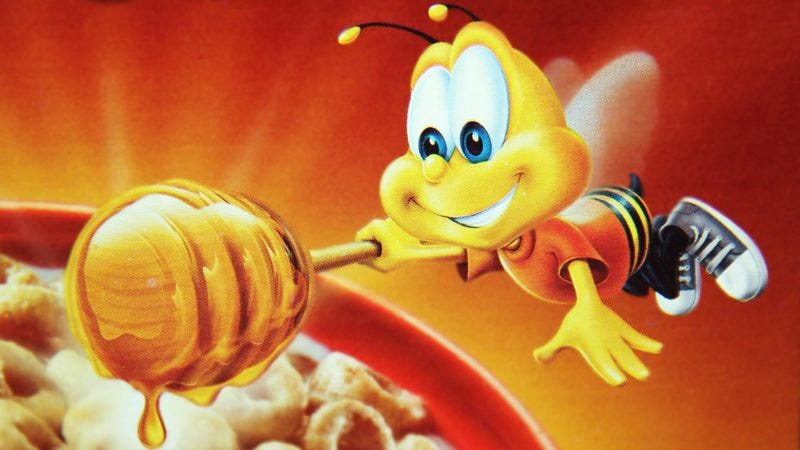 General Mills reps say customers will enjoy learning all about BuzzBee's adult struggles with emotional intimacy.