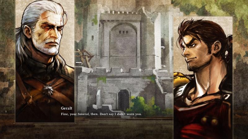 Illustration for article titled Soulcalibur VI's Story Mode Does Geralt Dirty