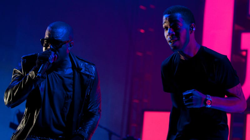 Illustration for article titled Kanye West and Kid Cudi's 'Kids See Ghosts' Livestream Did Not Go Well [Update: It's Finally Working]