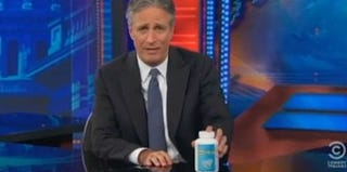 Jon Stewart (Comedy Central's Daily Show screenshot)