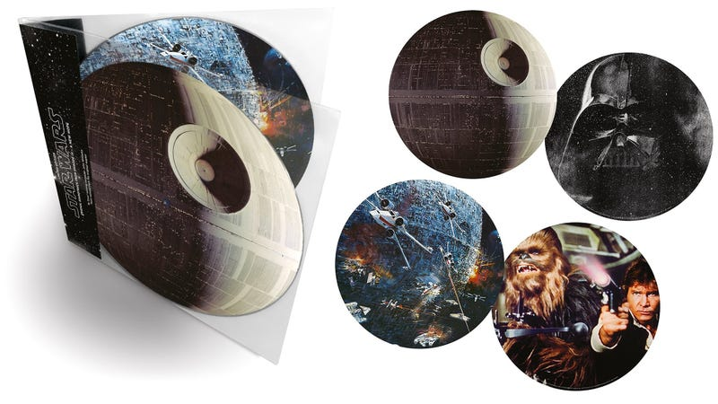 Illustration for article titled The Original Star Wars Soundtrack Will Be Available Again on This Gorgeous Vinyl Set
