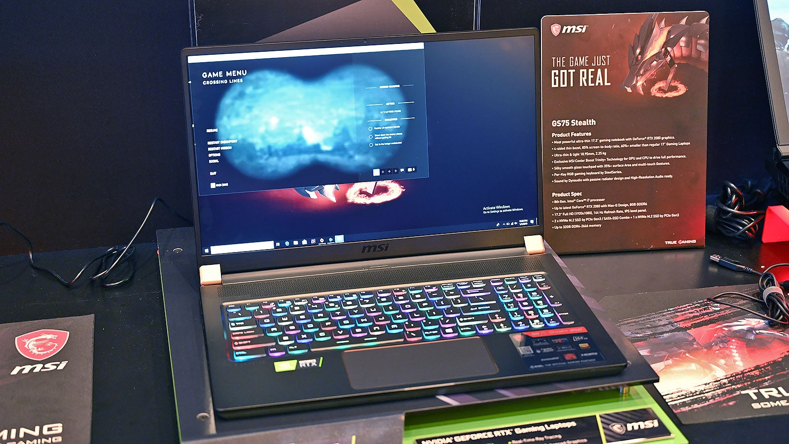 MSI's Latest Laptops Are Smaller, Sturdier, and Some Even Vibrate