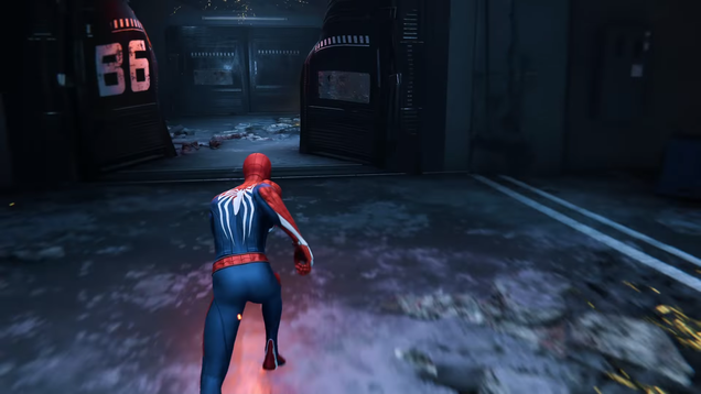Using this shot is actually really unfair; this is probably the only time you'll see this angle in the game. I'm trying to make a point though, damn it!