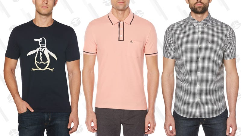 80% Off Select Styles | Original Penguin | Promo code OP20