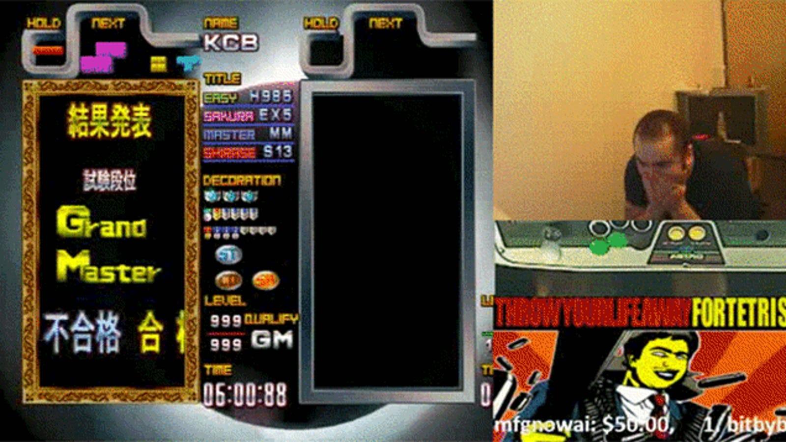 Someone Outside of Japan Finally Became A Tetris Grandmaster
