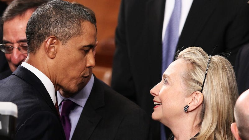 Illustration for article titled White House Considered Replacing Joe Biden With Hillary Clinton