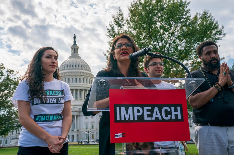 Rep. Rashida Tlaib Stands by Sale of 'Impeach the MF' T-Shirts