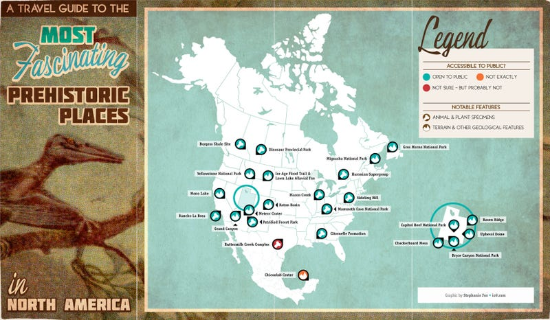 A travel guide to prehistoric places in north america sciox Gallery
