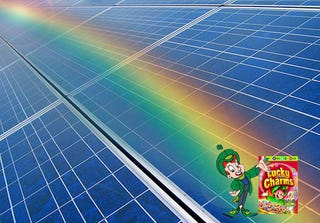 Illustration for article titled Latest Super-Efficient Solar Technology Captures Every Color of the Rainbow