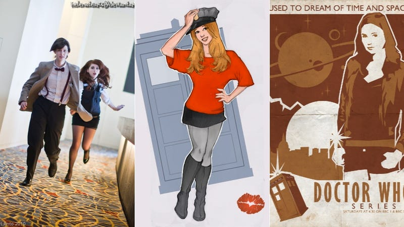 Illustration for article titled Come Along, Pond: The Greatest Fan Art and Cosplay featuring Doctor Who's Amy Pond!