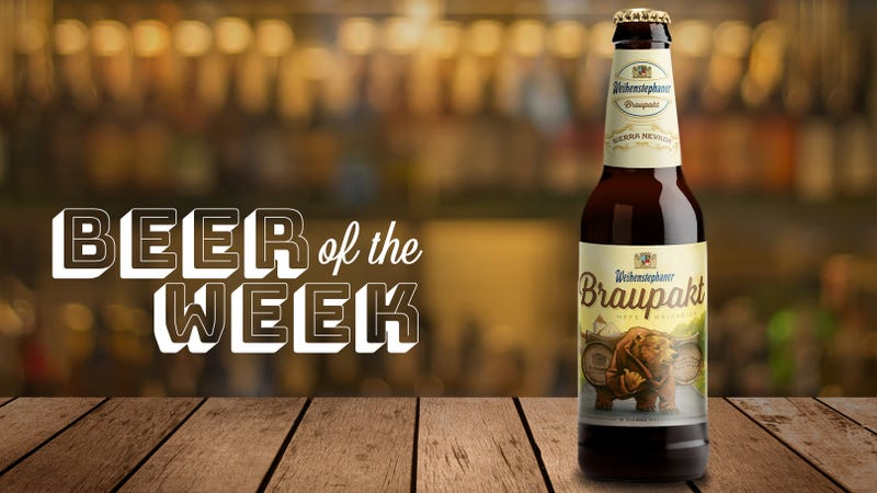 Illustration for article titled Beer Of The Week: Weihenstephan/Sierra Nevada Braupakt