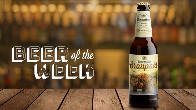 Illustration for article titled Beer Of The Week:Weihenstephan/Sierra Nevada Braupakt