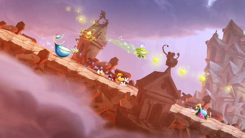 Illustration for article titled Rayman Legends Is More Collaborative Than Origins, But Just As Fun
