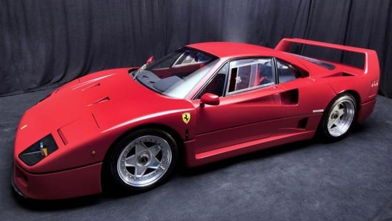 Illustration for article titled Ferrari Auction: Pictures
