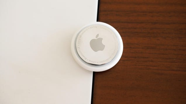 It s Apparently Possible to Drill a Key Ring Hole Into Apple s AirTags Without Messing Them Up