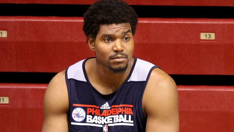 Illustration for article titled Injured Andrew Bynum Starting To Wonder If He'll Ever Waste His Talent Again