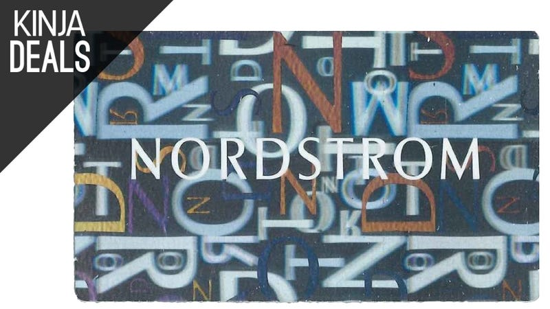 Illustration for article titled Shop at Nordstrom or Nordstrom Rack? Score $25 in Bonus Amazon Credit.