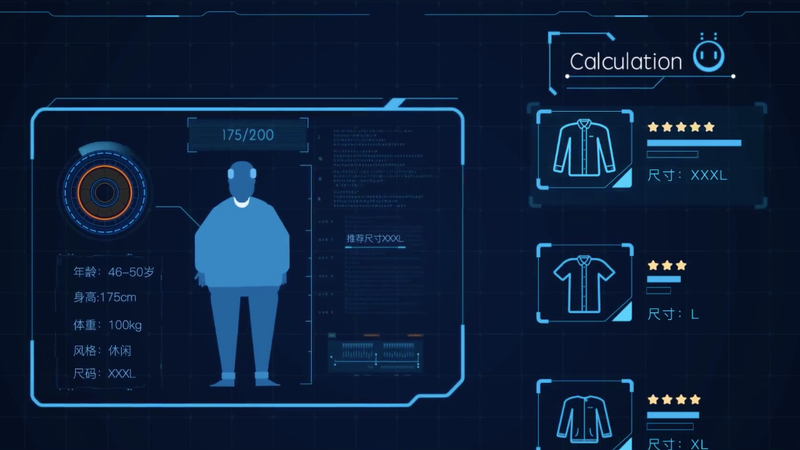 A still from a video promoting Alibaba's AI. (Screenshot: Alibaba)