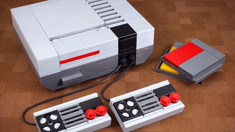 Illustration for article titled Satisfy your inner Master Builder with these snazzy retro Lego kits