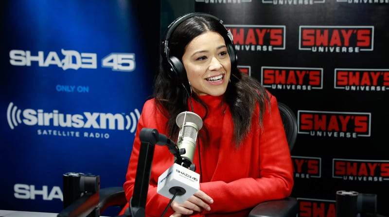 Gina Rodriguez, SiriusXM's Sway in the Morning