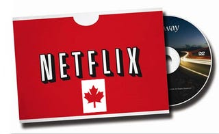 Illustration for article titled Netflix Goes To Canada This Fall