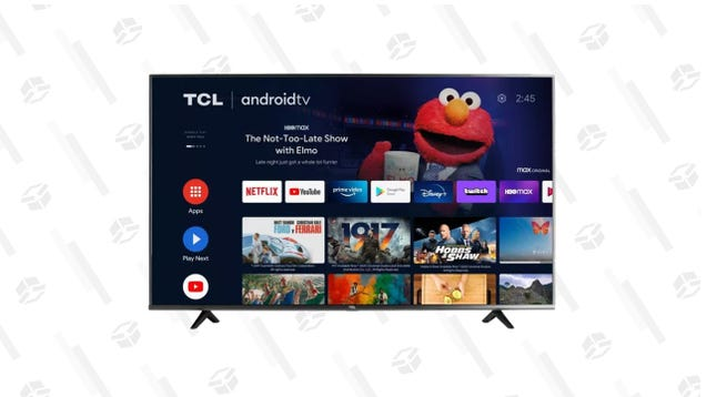 This 65  TCL 4K Android Smart TV Is Just $230