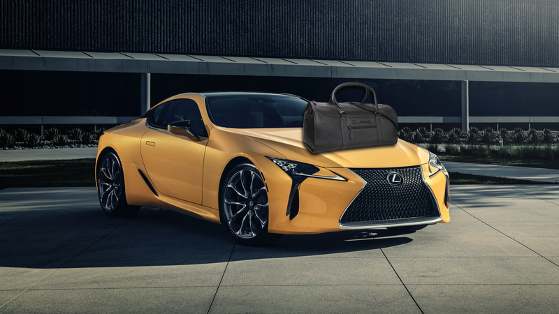 Illustration for article titled This $106,000 Leather Bag Comes With a Free Lexus