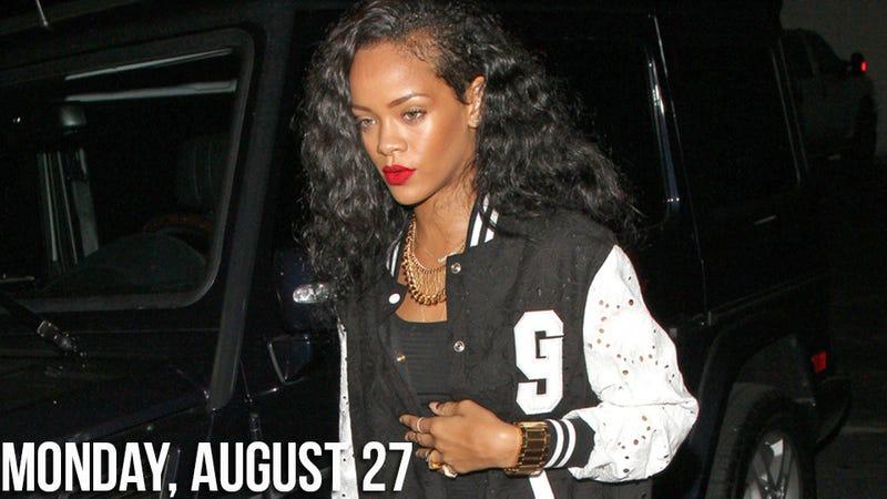 Illustration for article titled Rihanna Wins Race During Rob Kardashian Go-Kart Date