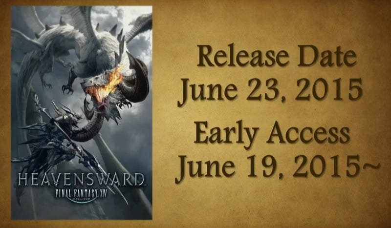 Illustration for article titled Final Fantasy XIV's First Expansion Arrives In June