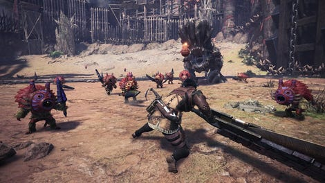 Assassin's Creed Snuck Into Monster Hunter: World Last Night