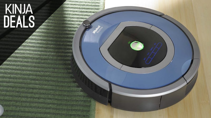 Illustration for article titled Check Vacuuming Off Your To-Do List With a Fantastic Roomba Deal