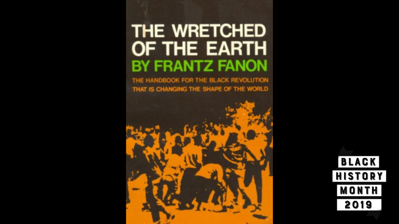 Illustration for article titled 28 Days of Literary Blackness with VSB | Day 16: The Wretched of the Earth by Frantz Fanon