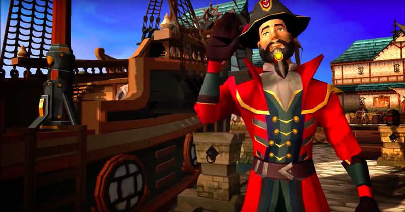 Illustration for article titled Runescape's 13-Year Pirate Quest Is Coming To An End