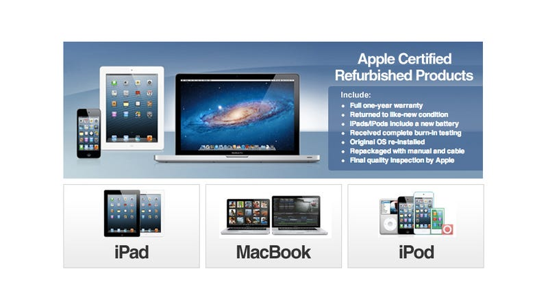 Illustration for article titled Apple Is Selling Stuff on eBay Now (Updated)