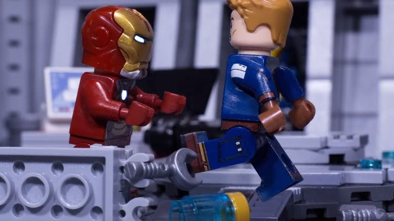 Lego Civil War (Screenshot: YouTube)