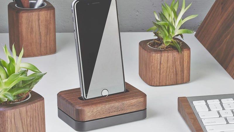 Grovemade Walnut iPhone Dock