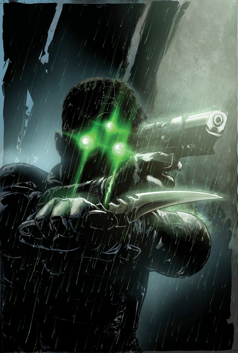 Illustration for article titled Splinter Cell: Echoes Cover