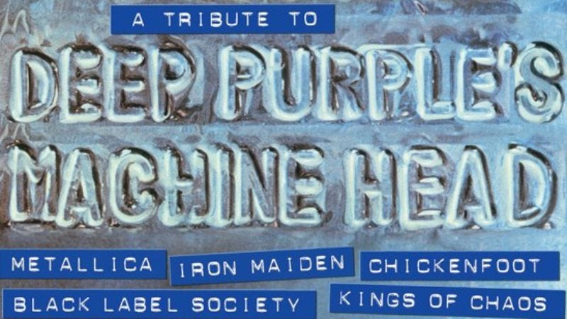 Illustration for article titled Metallica, The Flaming Lips, Iron Maiden, and Chickenfoot to appear on new Deep Purple tribute album