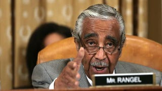 U.S. Rep. Charles Rangel (D-N.Y.) speaks as a member of the House Ways and Means Committee on Capitol Hill in Washington, D.C. Alex Wong/Getty Images
