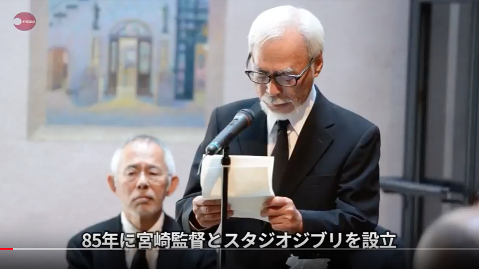 Hayao Miyazaki Remembers His Friend Isao Takahata