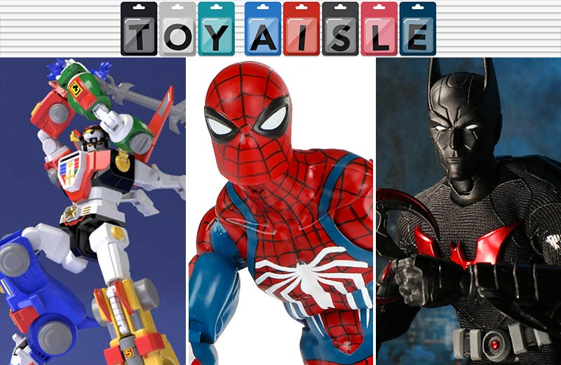 Illustration for article titled The PS4 Spider-Man Heads to Your Toy Shelf, and More of the Most Spectacular Toys of the Week