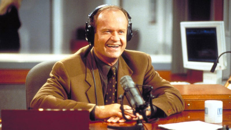 Illustration for article titled Do I hear the blues a-callin', or is Kelsey Grammer exploring a Frasier reboot?