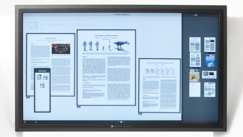 Illustration for article titled The World's Largest Multitouch LCD Is 82-Inches of Glass Just Waiting to Be Smudged