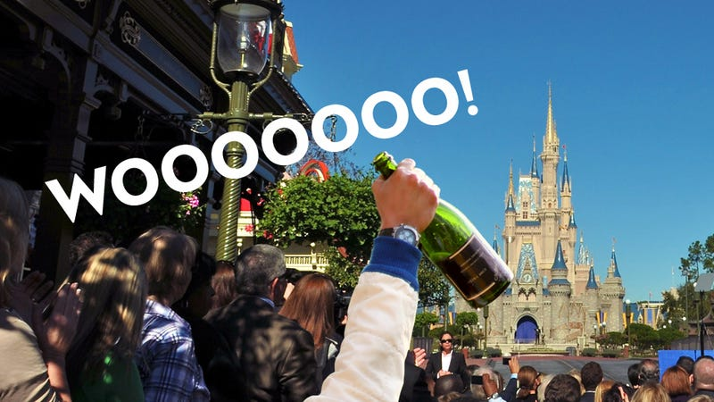 Illustration for article titled The 10 Best Things to Do Drunk at Disney World