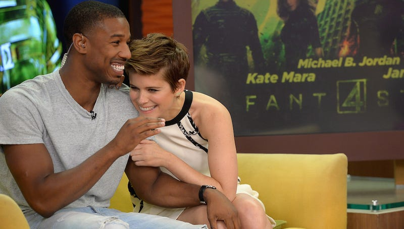 Illustration for article titled Kate Mara and Michael B. Jordan Are Patient Saints